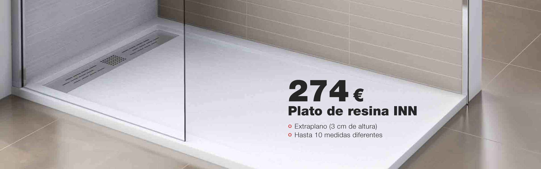 Plato de ducha INN
