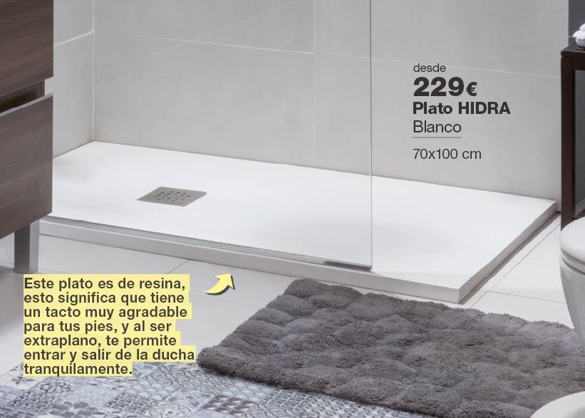 Plato de ducha HIDRA