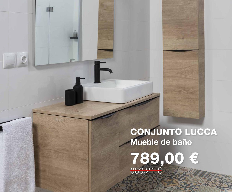 Conjunto de mueble de baño LUCCA