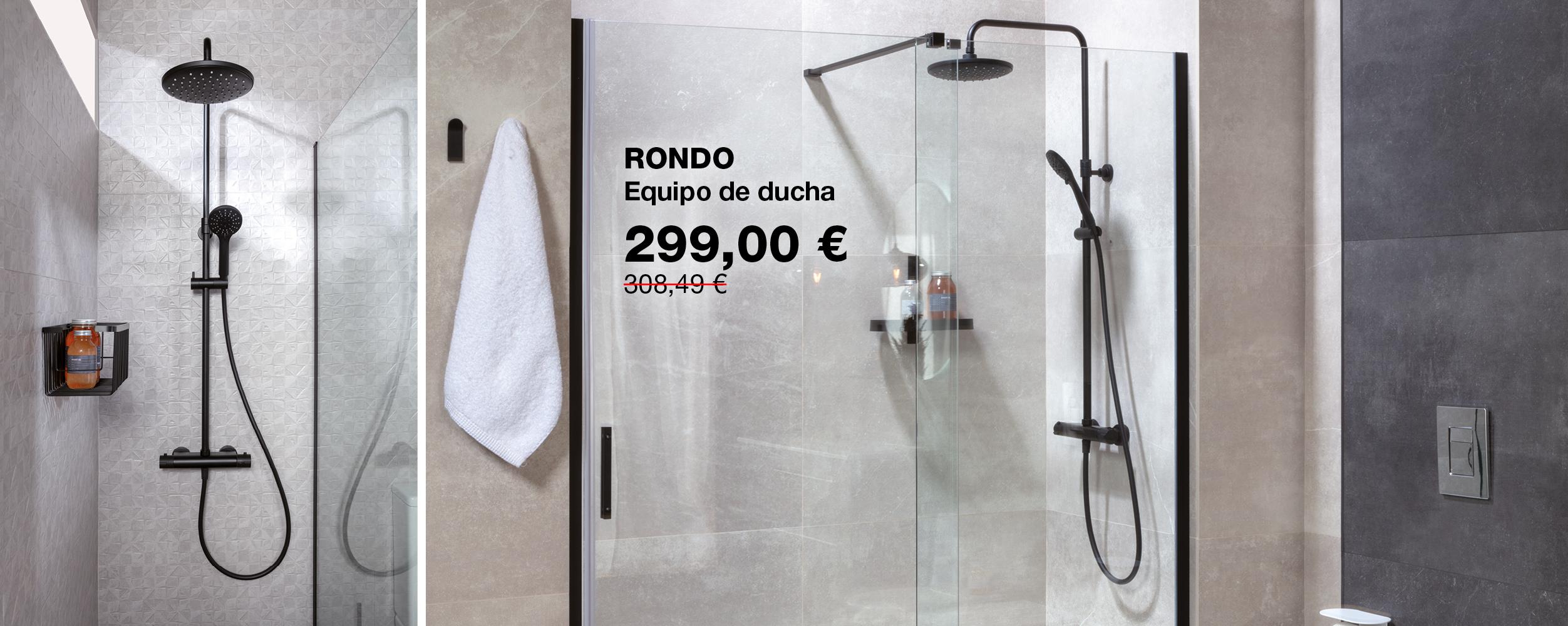 Equipo RONDO de ducha